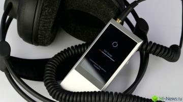 Astell&Kern Jr.: взрослый звук карманного масштаба