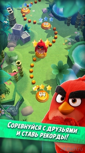 Вышла «пинбольная» Angry Birds Action!