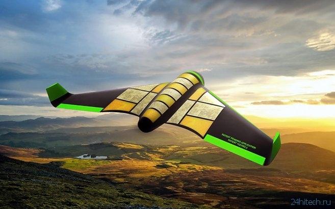 Съедобный дрон не только доставит груз, но и сам станет частью гуманитарной помощи