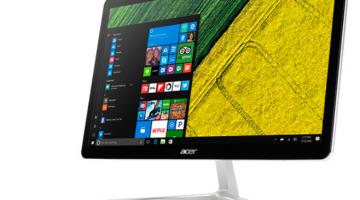 Acer Aspire U27 — бесшумный моноблок с тонким корпусом