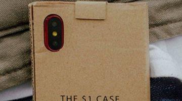 Для iPhone X выпустили необычный чехол за 1 доллар