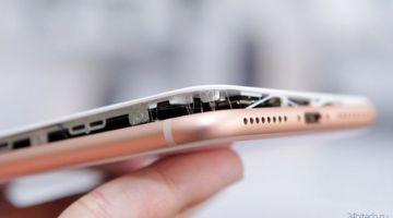 iPhone 8 Plus взорвался во время зарядки