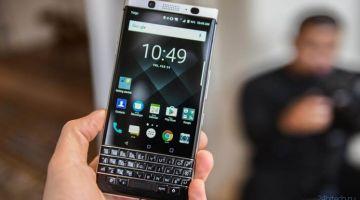 Blackberry вернулась в Россию со смартфоном за 40 тыс. рублей