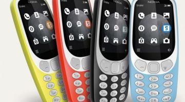 Обновленная Nokia 3310 с поддержкой сетей 3G представлена официально