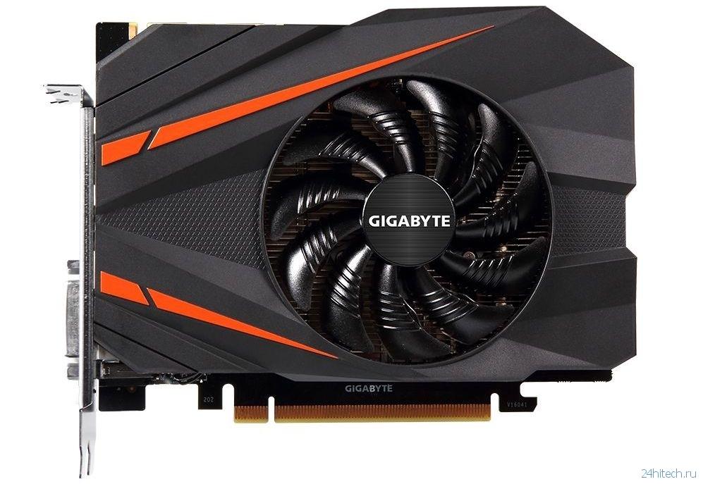 Gigabyte создала самую компактную в мире видеокарту GTX 1080