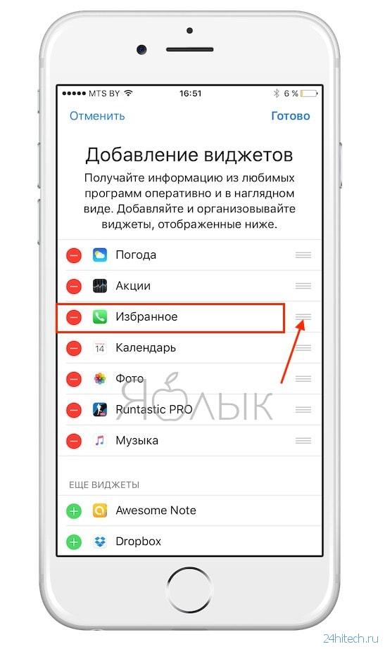 Как на айфоне сделать контакт по алфавиту