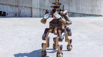 Centauro: робот-кентавр для спасения людей