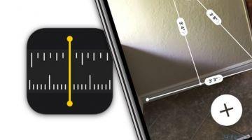 Виртуальная линейка в iOS 12 или измерять расстояния в приложении Measure на iPhone