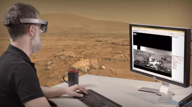 Неизвестный прототип HoloLens засветился в видео от NASA