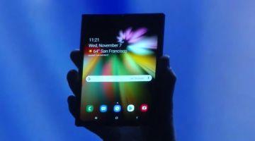 Samsung представила революционный гибкий дисплей Infinity Flex