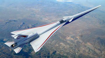 Lockheed Martin приступает к строительству экспериментального сверхзвукового самолета
