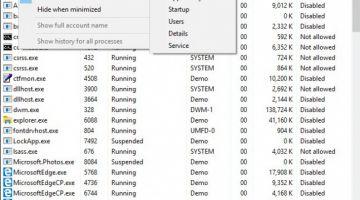 Windows 10 1903: новые опции для Проводника, Диспетчера задач и Центра действий
