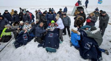 Экипаж МКС благополучно вернулся на Землю и привез улики космической диверсии