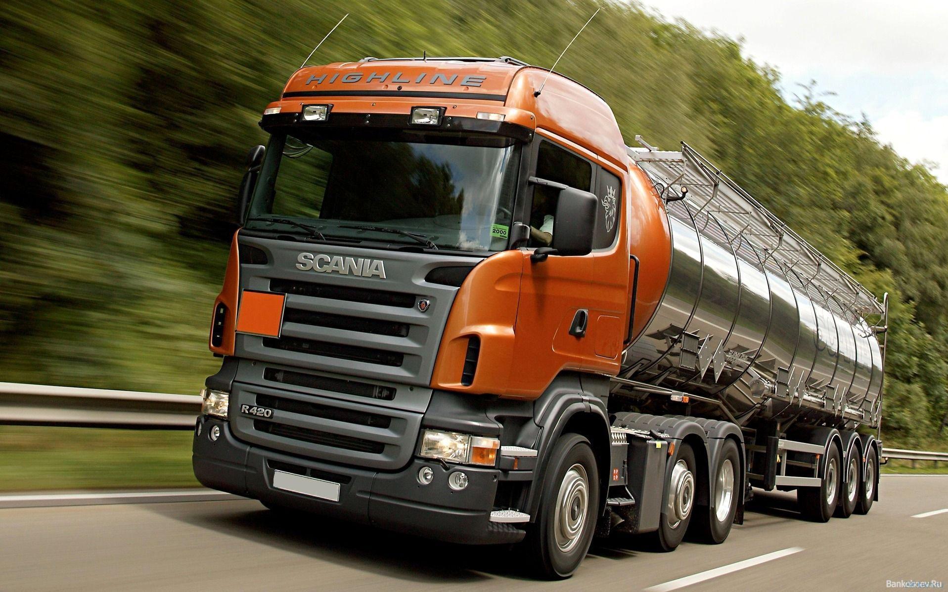 Транспортный гигант Scania разрабатывает первый грузовик на водородном топливе