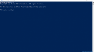 Microsoft рекламирует PowerShell в… PowerShell