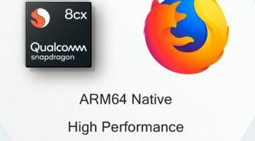 Firefox готовит нативную версию браузера для Windows 10 ARM
