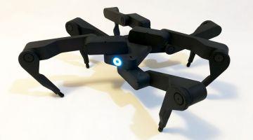 видео | Зажигательная аэробика от робота-паука компании Robugtix
