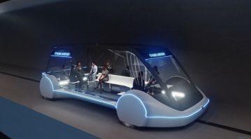 Boring Company откроет туннель с автономными автомобилями 18 декабря