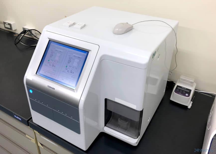 Новый аппарат от Toshiba по капле крови выявляет 13 видов рака