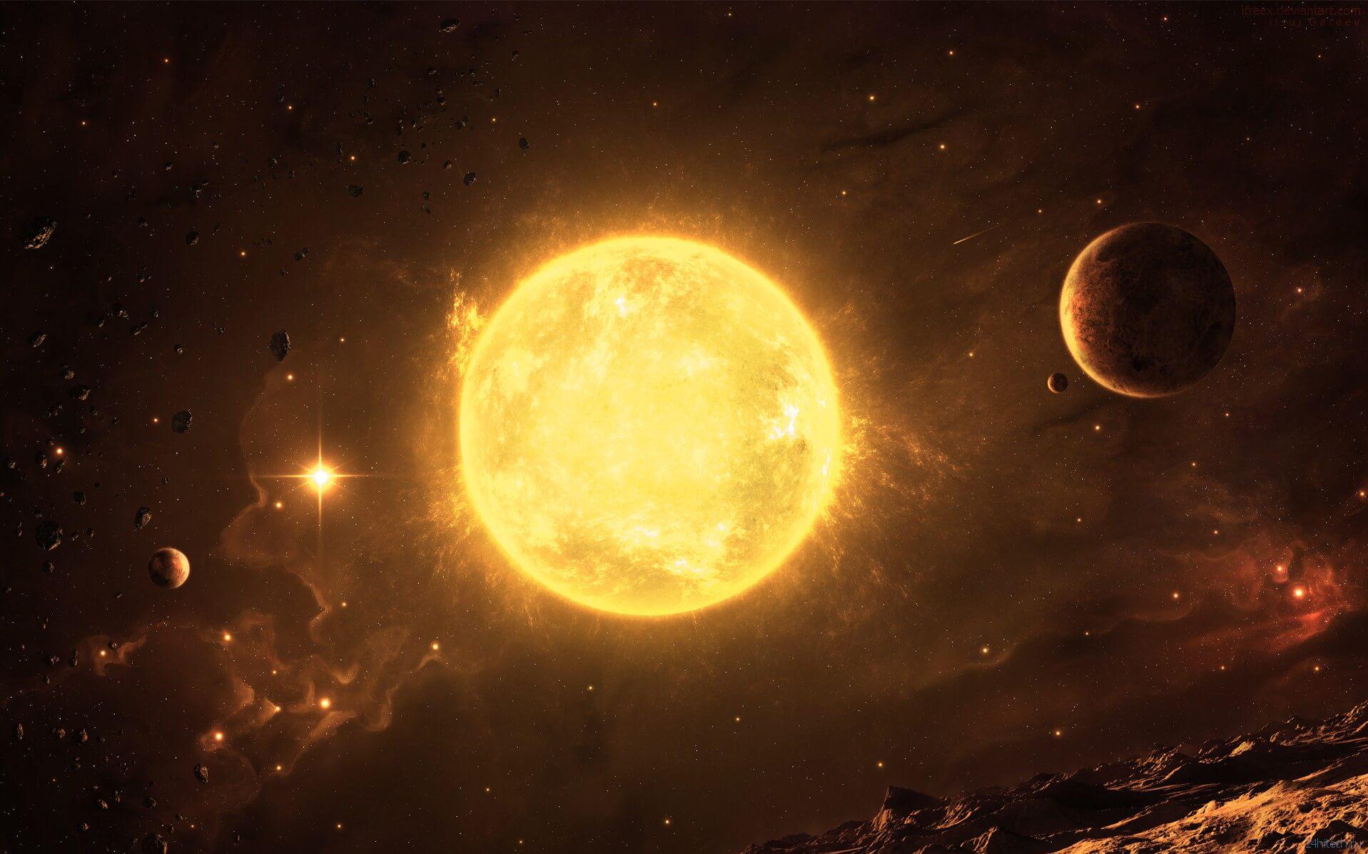 NASA нашло новые доказательства того, что наше Солнце  не совсем обычная звезда