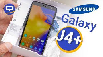 Samsung Galaxy J4 Plus первый взгляд, быстрый обзор./ /