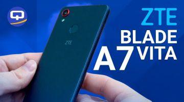 Обзор ZTE Blade A7 Vita. / /